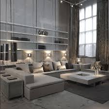 Amazing Studio Apartment Decor With The Dark Styling Dark - Urban living room design
