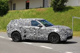 silver range rover sport 2017 range rover sport coupe could be the first recipient of jaguar u0027s