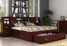 double beds buy modern double beds in uk 60 off wooden space