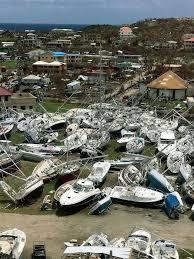 strengthening hurricane maria a threat to irma hit caribbean