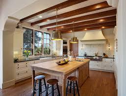 kitchen in spanish hope ranch spanish style custom home kitchen mediterranean