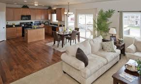 kitchen family room floor plans awesome open floor plan kitchen and family room 16 pictures