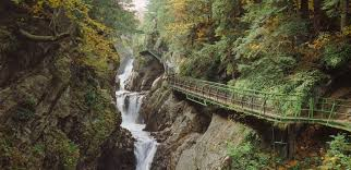 New York nature activities images High falls gorge lake placid adirondacks jpg