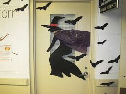 easy diy halloween door ideas craft latest halloween craft