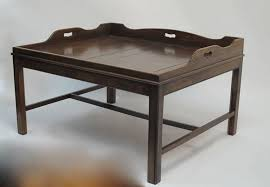 Tray For Coffee Table Georgian Mahogany Butler U0027s Tray Coffee Table For Sale At 1stdibs
