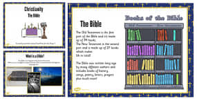 christian symbols teaching and task setting powerpoint