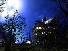 3d halloween screen savers haunted house wallpapers desktop wallpaper cave