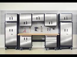 garage storage cabinets garage storage cabinets cheap youtube