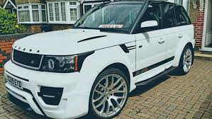 range rover land rover white 2009 white range rover sport full cobra kit kenya car bazaar ltd