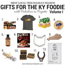 unique food gifts kentucky of christmas gifts for the kentucky foodie volume