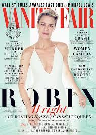 Magazine Vanity Fair Robin Wright Vanity Fair Magazine Cover Story Politely Disses
