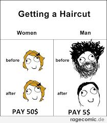 Men And Women Memes - haircut meme haircuts