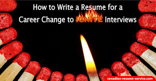 Resume For Career Change How To Write A Resume For A Career Change To Ignite Interviews