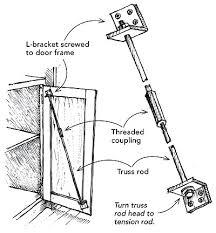 how to fix a warped cabinet door straightening a warped cabinet door fine homebuilding tip ideas