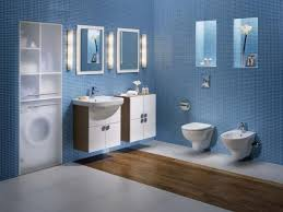 Colorful Bathroom Design Ideas Orangearts White Blue Color With - Blue bathroom design ideas