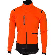 orange cycling jacket wiggle castelli alpha ros jacket cycling windproof jackets