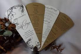 petal fan wedding programs get wedding programs wedding fan programs wedding petal fan