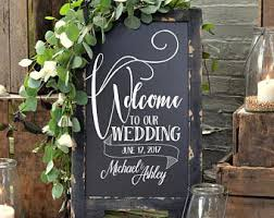 wedding chalkboard wedding chalkboards etsy