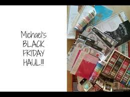 michaels black friday michael u0027s black friday haul 2016 youtube