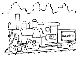 train coloring page u2014 fitfru style printable train coloring