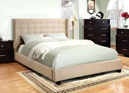 Padded Bed Frame Padded Bed Frame White Bed