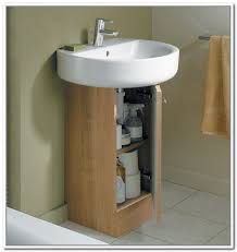 Bathroom Sinks With Storage 1000 Ideas About Pedestal Sink Storage On Pinterest Pedestal
