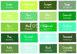 shades of green paint green color names enginetowne com