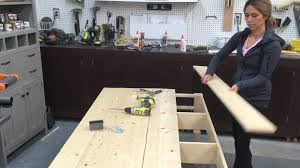 Building A Wooden Desk by How To Build Wood Tabletop Youtube