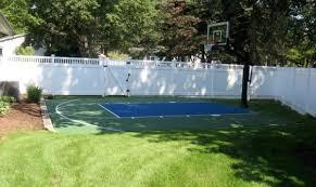 small backyard basketball court ideas backyard design unique
