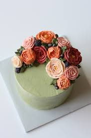 flower cakes buttercream flower cakes eat cake be merry custom cakes ny nj