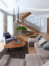 grand canapé séjour avec un grand canapé d angle à partir d un tissu dans un