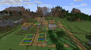 minecraft backdrop minecraft taming seed 1 11 2 with mountain