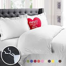 What Is A Duvet Cover And Sham Amazon Com Nestl Bedding Duvet Cover Protects And Covers Your