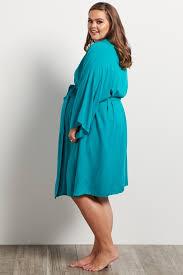 jade plus size dressing robe
