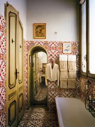carlo mollinos bathroom design in turin italy mediterranean