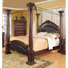Upholstered Canopy Bed Astoria Grand Fechteler Upholstered Canopy Bed Walmart