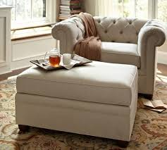 pottery barn chair and a half slipcover chair and a half with ottoman pottery barn pdf project free pottery