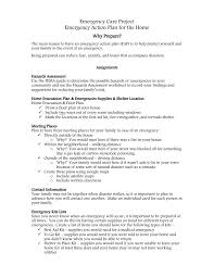 emergency action plan overview u0026 rubric