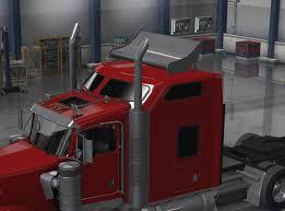 kenworth stock w900 stock wing unlocked ats american truck simulator mod ats mod