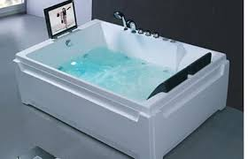 Double Bathtubs Double Bathtub Two People Two Person Tub On Pinterest Whirlpool