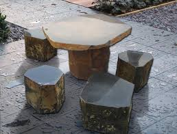 Modern Furniture Design Ideas In Eco Style Bringing Stone And - Rock furniture