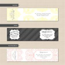 beautiful address label template exles with three design theme