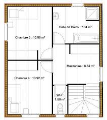 plan maison 5 chambres gratuit plan maison etage 4 chambres gratuit 14 plan gratuit maison