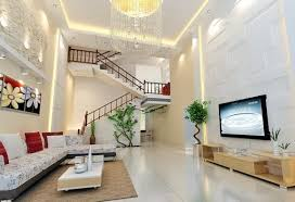 New Home Interior Living Room Design With Stairs Of New Modern Home Interior Design