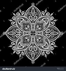 beautiful lace ornament stock vector 102375403