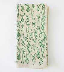 root vegetables print kitchen towels set of 2 home kitchen