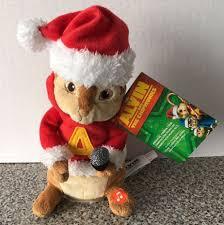 alvin chipmunks musical animation christmas alvin plush