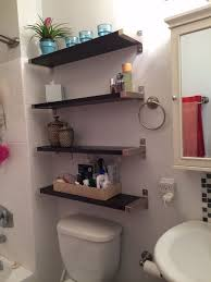 gorgeous bathroom shelves over toilet with bathroom shelves over