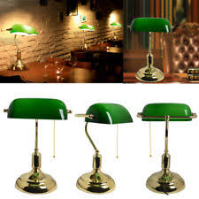 Traditional Bankers Desk Lamp Antique Bankers Lamp Ebay