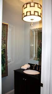 Elegant Powder Room Powder Room Chandelier Home Design Ideas